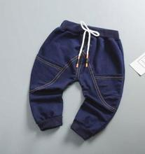 2019 Spring Autumn New Stylish Children's Jeans Boys Trousers Infant Baby Girls Denim Pants Kids Jeans for 0-4 Year MY-173105 цена