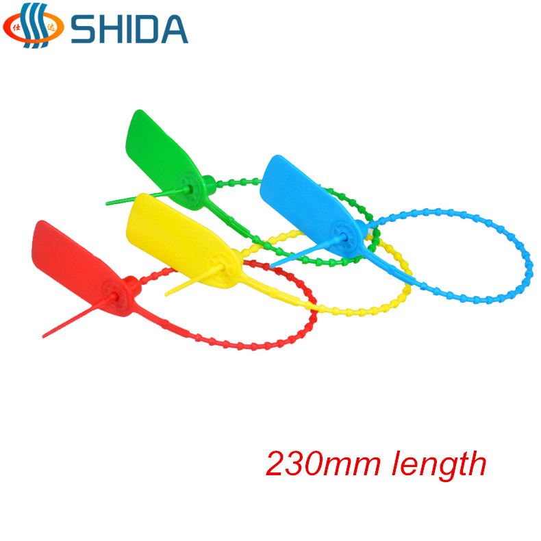 100pcs 230mm Length Tags Plastic Nylon Cable Ties