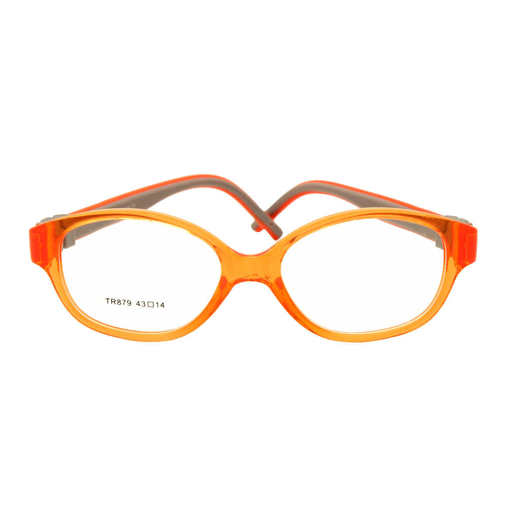 Children Glasses Size 43 No Screw Flexible Silicone Bendable Optical Frame Kids Eyeglasses Boys Girls