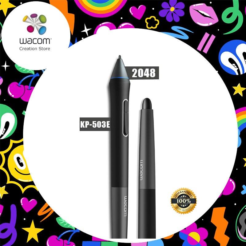 Wacom Intuos Pro Penna (KP-503E) per Wacom Intuos 4/5/Pro, cintiq 13HD 21UX 22HD 24HD, Compagno (2048 Livelli di Pressione)