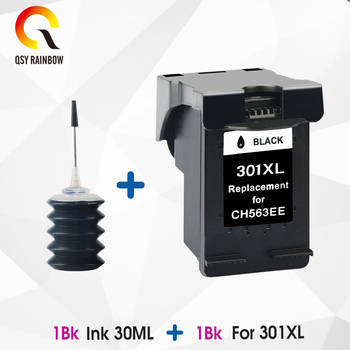QSYRAINBOW 301XL Ink Cartridge Replacement for HP 301 xl Deskjet 1050 2050 2050s 3050 for Envy 4500 4502 4504 5530 цена 2017