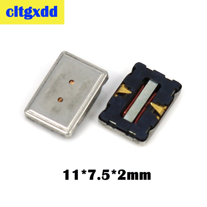 cltgxdd 2pcs Earpiece Ear Sound Speaker Buzzer Receiver Replacement For Nokia 8800 6230 N95 6300 <font><b>3600s</b></font> 7500 6270 N73 5200 120 image