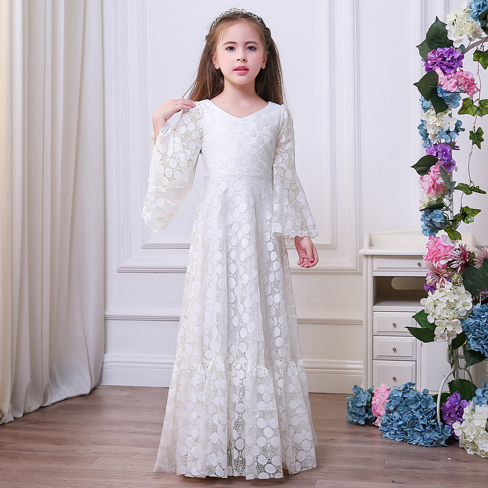 afd9806f9d6 preorder-Girls-Flare-Sleeves-Lace-Long-Dress-Ankle-Length-Princess-Maxi- Dresses-Girl-White-Tulle-Costumes.jpg