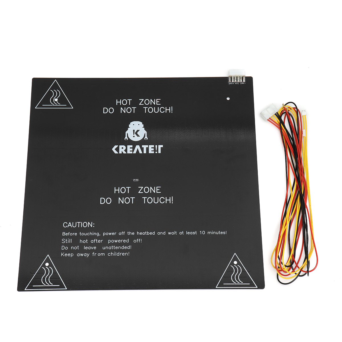 3D Printer Parts Black MK3 Hotbed Latest Aluminum Heated bed 12V for ...