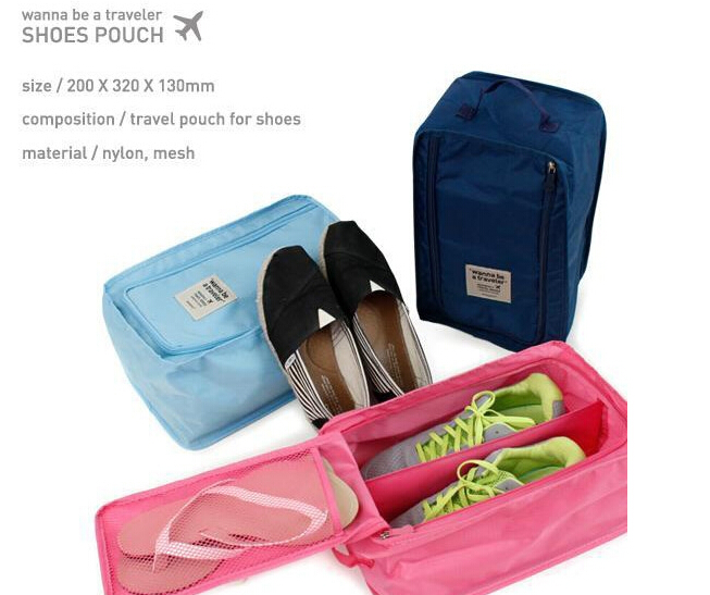 3pcs lot New Hot Travel Storage Drawer Box House Organizer Box Stackable Foldable Shoes Bags Shoe