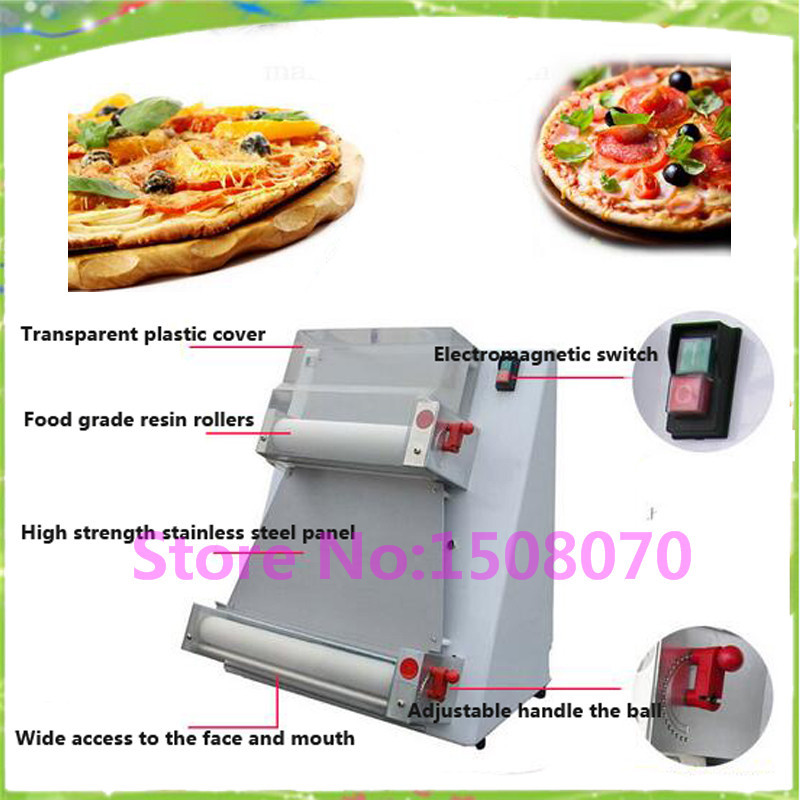 discount New design 0.5-5.5mm thickness dough sheeter making machine / pizza crust making pressing machine electric pizza dough press machine for rolling dough dough sheet making machine