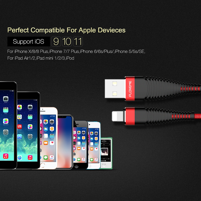 Fast Charging Cable for Apple iPhone