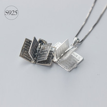 1pc 925 Sterling Silver Holly Bible Necklaces & Pendants