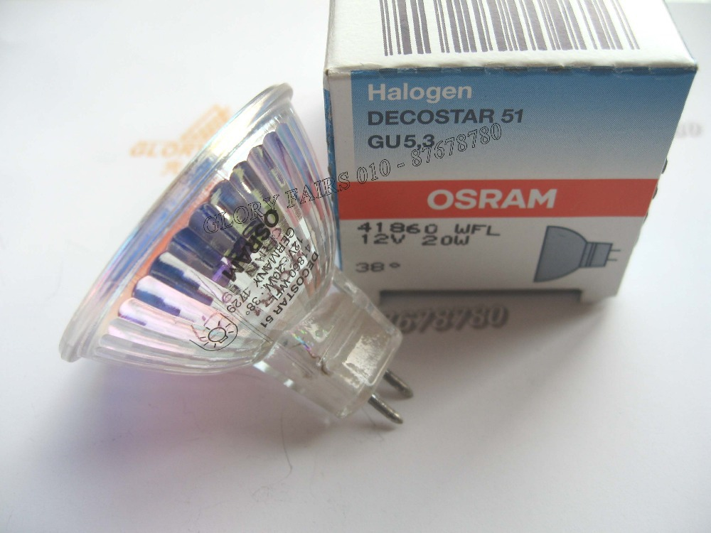 buy osram decostar 51 41860 wfl 12v 20w bulb 38 degree 41860wfl 12v20w halogen. Black Bedroom Furniture Sets. Home Design Ideas