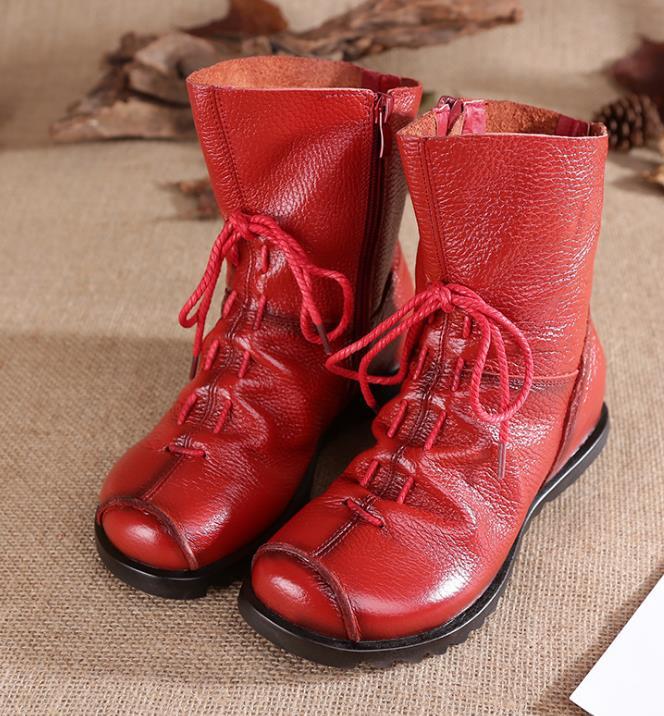 Boots Et Confortable rouge Chaud glissement Ms Non 2017 Neige Bottes Snow pqXFz