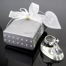 Dhl-freies verschiffen 50 teile/los baby dusche Kristall Niedliche Prinzessin Baby Schuhe # DC69