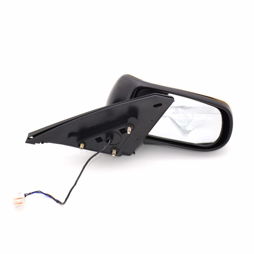 1Pcs Left Side Rear View Door Mirror 3Lines Mirror BVED-69-18Z For Mazda 323 Family BJ 1998-2005