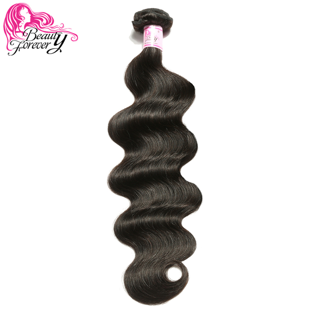 Beauty Forever Brazilian Body Wave Hair Weave Bundles Remy Human Hair Extensions Natual Color 8-30 inch Free Shipping