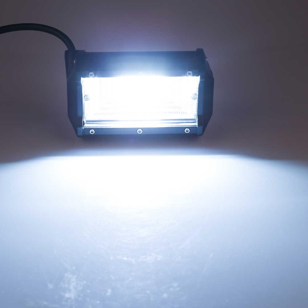 7D 5 بوصة 72 واط الطرق الوعرة سيارة 4WD شاحنة جرار مركب مقطورة 4x4 SUV ATV 24 فولت 12 فولت بقعة LED قضيب LED مضيء ضوء العمل