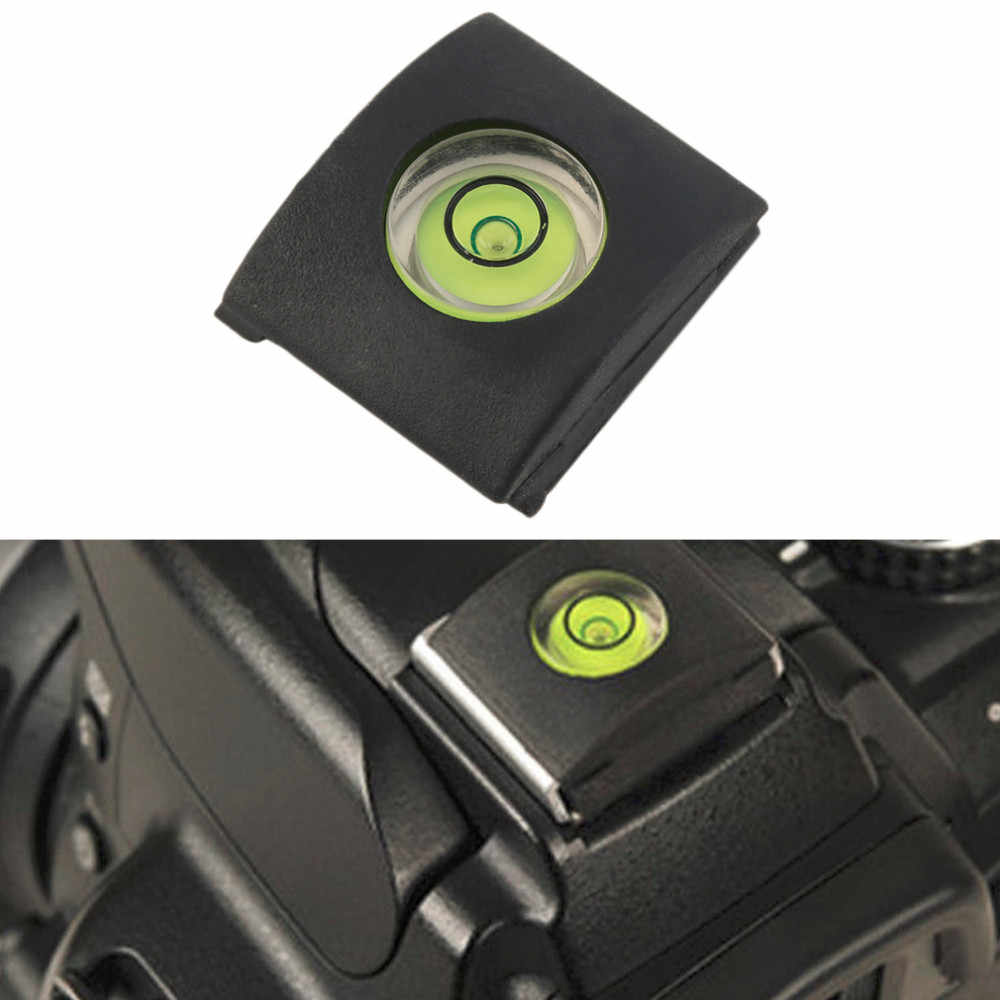 Hot Selling ! Flash Hot Shoe Protector Cover Cap Bubble Spirit Level For DSLR Camera