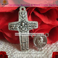 Free ship cheap 45 sets pope franciscus rosary part, rosary center,crucifix,rosary cross, metal alloy part