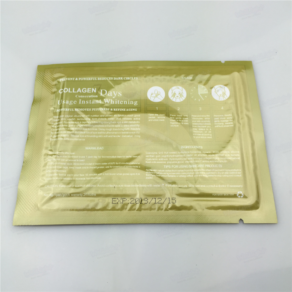 Hot Highly Effective Honey eyemask hydrating eye mask get to wen Whitening For Eye Care health face care makeup 2Pcs