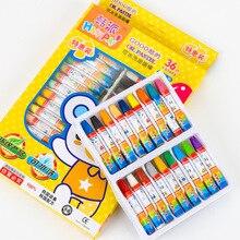 1 компл. Мультфильм цветное масло Пастель шестиугольная Краска Ручка мелки для детей милые граффити принадлежности для рисования наборы художественные наборы