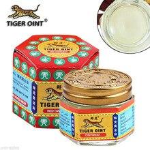 Ungüento de bálsamo de tigre blanco rojo para el dolor de cabeza, dolor de dientes, dolor de estómago, analgésico, alivio muscular, bálsamo de León, bálsamo esencial para mareos