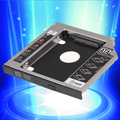 "High Quality 2.5"" SATA HDD Hard Drive Disk Caddy Tray Bracket For 12.7mm Universal CD DVD-ROM"