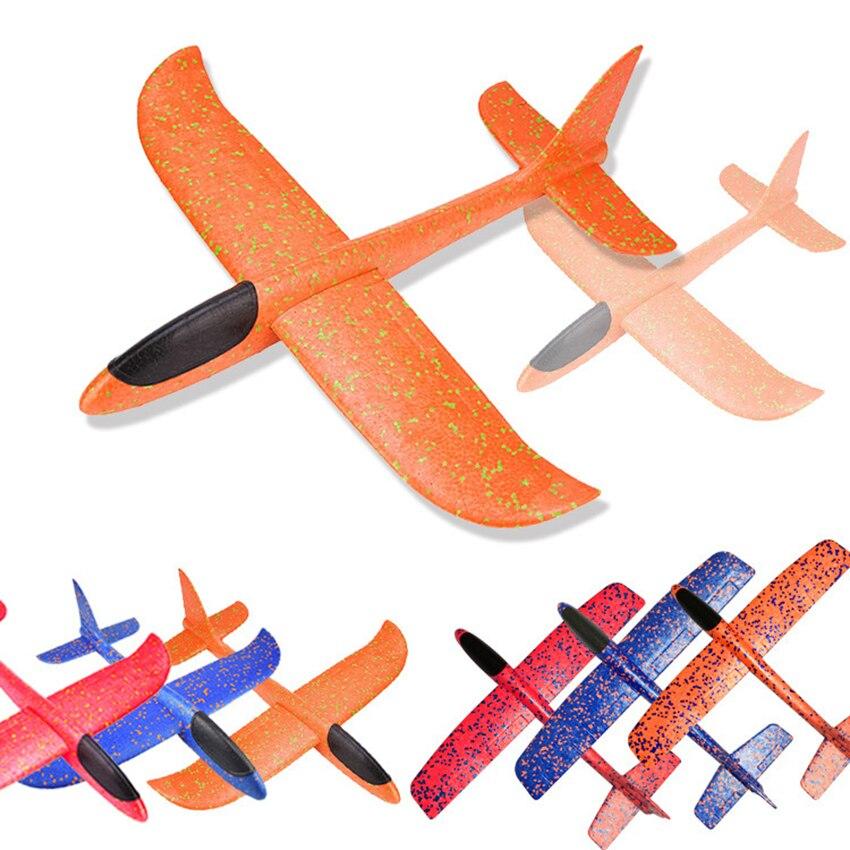 35 Cm avion en mousse jetant planeur jouet avion en mousse inertielle EPP modèle volant planeurs en plein air Fun Sports avions jouet pour enfants 2