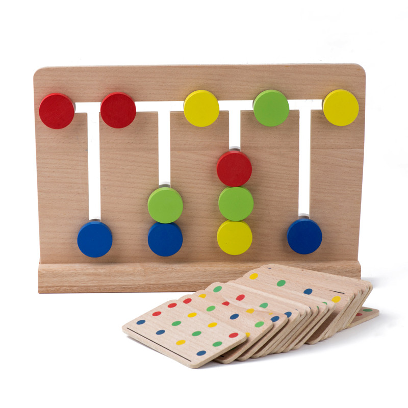 Educational Toys Nursery : Color matching game for early education free shipping