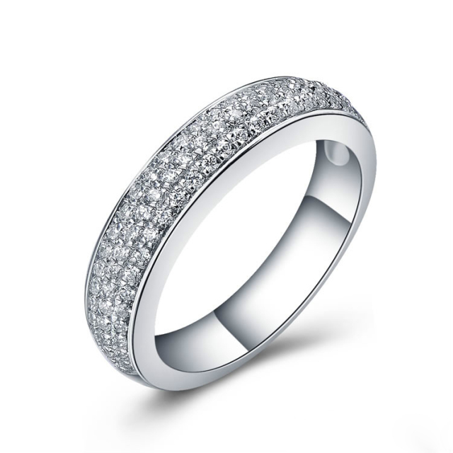 rings wedding diamond ring platinum large band eternity bands
