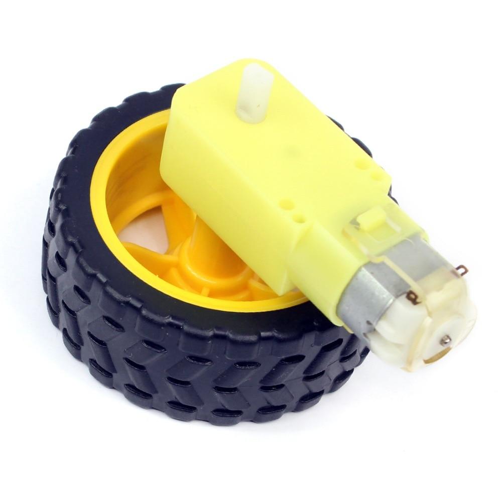 US $0 89  TT Motor Smart Car Robot Gear Motor for arduino Diy Kit Wheels  Smart Car Chassis Motor Robot Remote Control Car DC Gear Motor-in Parts &