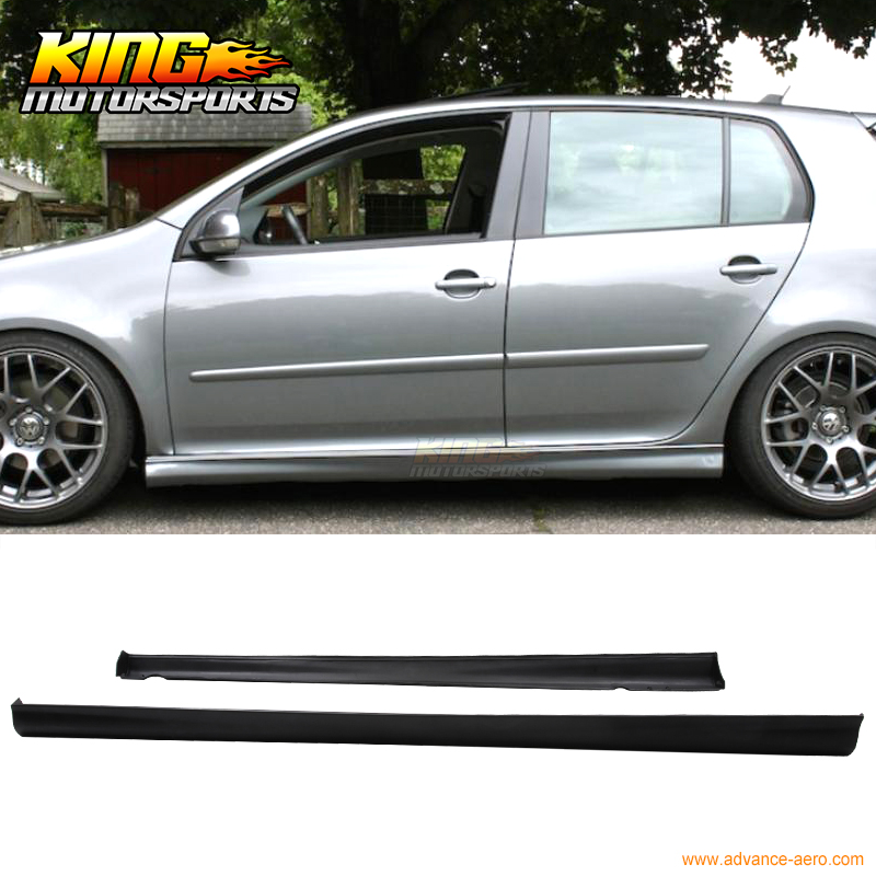 low price sale low priced new cheap Fit 06 07 08 09 VW Golf Gti Mkv Mk5 Mk6 Side Skirts Lip V ...