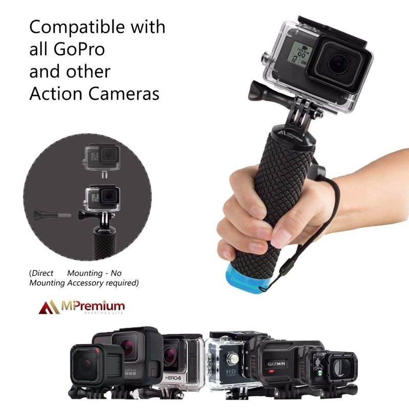 Image 3 - Waterproof Floating Hand Grip For GoPro Camera Hero 7 Session Hero 6 5 4 3+ 2 Water Sport  Action Cameras Handler  accessories-in Sports Camcorder Cases from Consumer Electronics