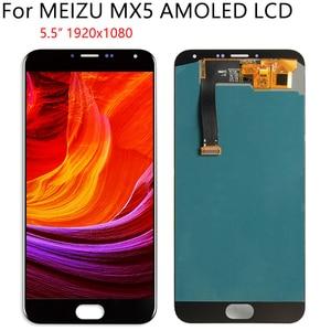 """Image 3 - 5,5 """"AMOLED для MEIZU MX5 M575M M575H ЖК дисплей кодирующий преобразователь сенсорного экрана в сборе запасная часть 100% протестированные Бесплатные инструменты"""