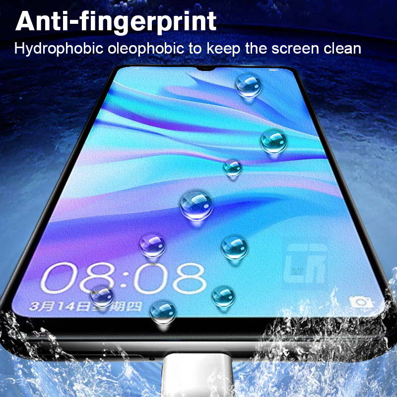 No Fingerprint Matte Screen Tempered Glass for Huawei Nova 5 5i Mate 20 30 Lite Y9 Prime P Smart Z Plus 2019 Honor 20i Pro Glass in Phone Screen Protectors from Cellphones Telecommunications