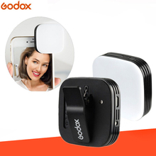 GODOX LEDM32 الفيديو الضوئي المصغر الهاتف المحمول بطارية ليثيوم الإضاءة LED سطوع قابل للتعديل للهواتف التصوير الفوتوغرافي