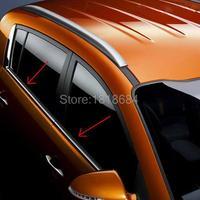 Für KIA SPORTAGE 2010-2012 Top Qualität Edelstahl Fensterbänke Außen Fenster Dekoration Trimmt Auto Zubehör 4 teile/satz