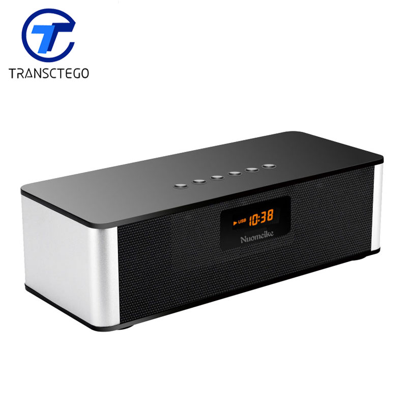 ФОТО  Bluetooth Speaker Wireless Stereo Portable Subwoofer sound fm Radio audio receiver music player full range tweeter