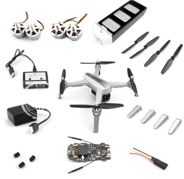 MJX B5W Bugs 5W 4K Version RC Quadcopter Spare Parts Charger Set