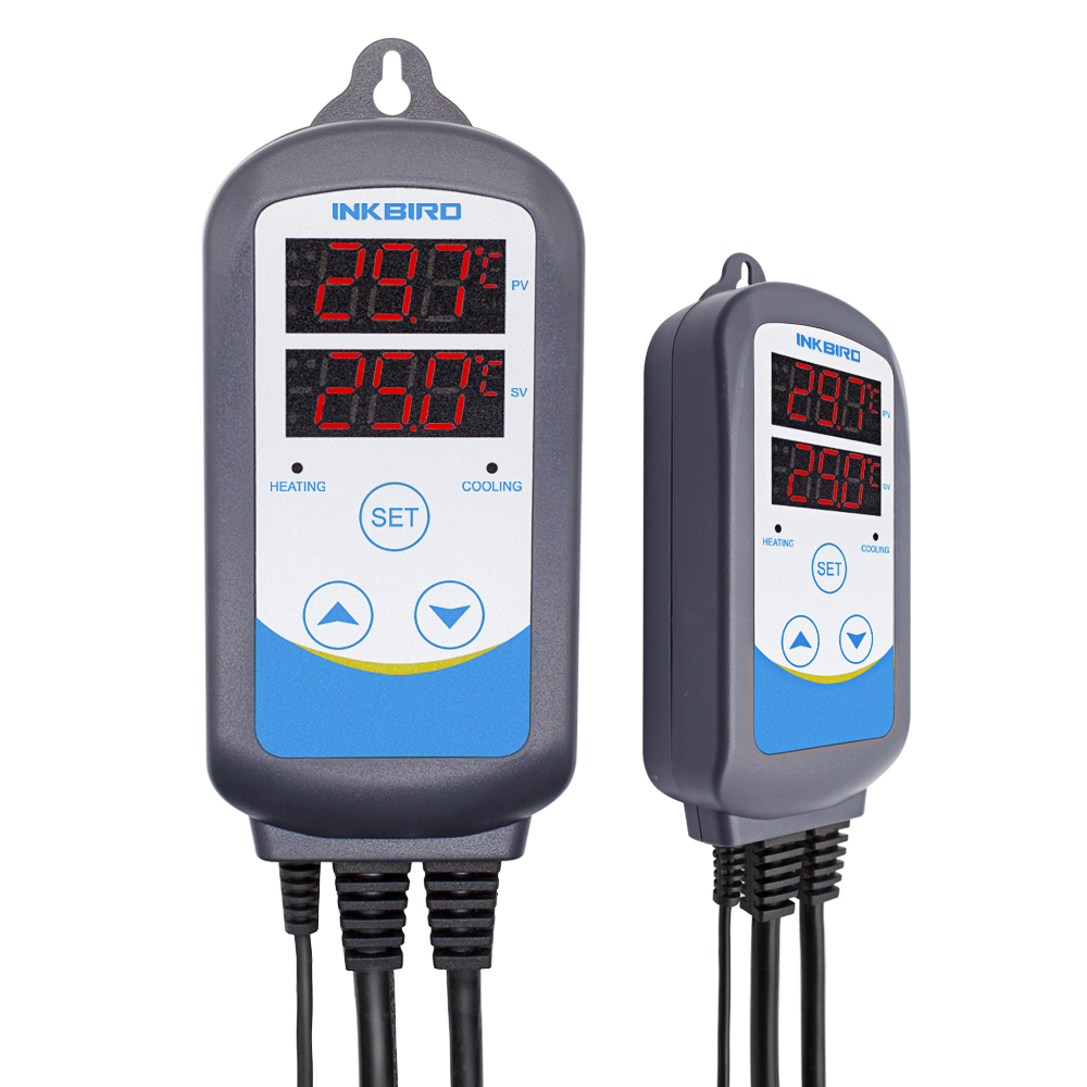 12 Periods Timer Stage ITC 310T B PLUG & PLAY 220V Digital Temperature Controller Thermostat Timer Heating LCD Temperature