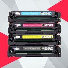 4PK совместимый тонер-картридж CB540A 540A CB541A CB542A CB543A 125A для hp laserjet 1215 CP1215 CP1515n CP1518ni CM1312 принтера