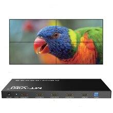 Led 2x2 контроллера видеостены 1 HDMI Вход 4 HDMI Выход 2X1/3X1 /4X1/1X2/1X3/1X4 ТВ процессор изображения шить