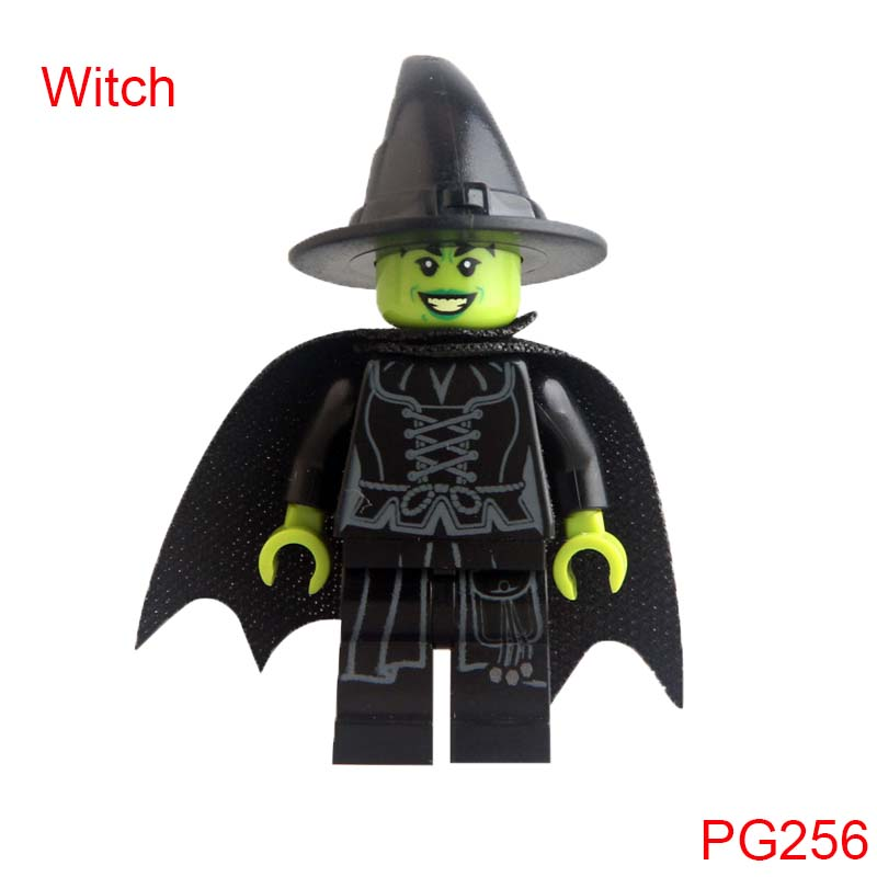 Pg256 Wizard Of Oz Wicked Witch Dolls Super Heroes Building Blocks Bricks Children Gifts ...