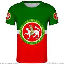 Koszula TATARSTAN bezpłatne zamówienie nazwa numer Kazan koszulka flaga słowo rosyjski rosja drukuj Almetyevsk Naberezhnye Chelny odzież