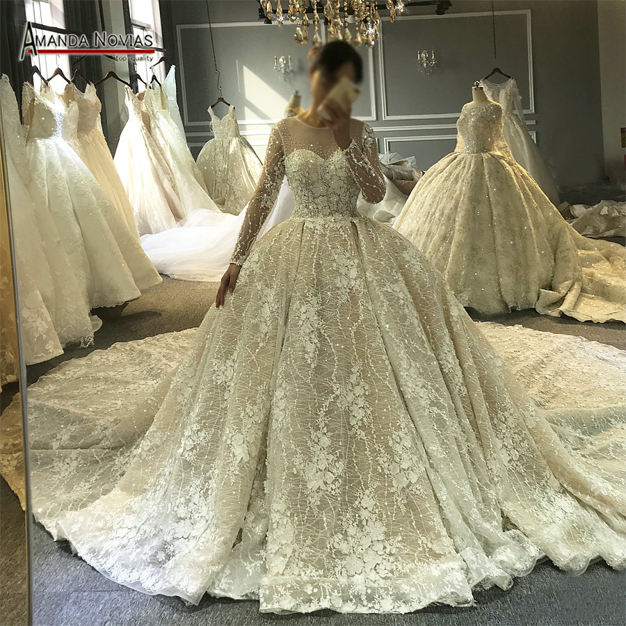 Wedding Gown Boutique: Aliexpress.com : Buy Top Quality 100% Real Work Amanda
