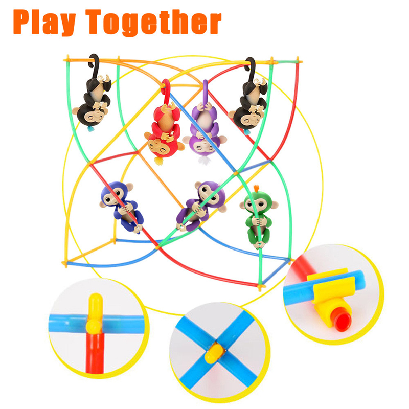 50-PCS-Create-Playground-Assorted-Colors-DIY-Interactive-For-Fingerlings-Monkey-Kids-Toys-For-Children-Anti-Stress-Drop-Shipping-1