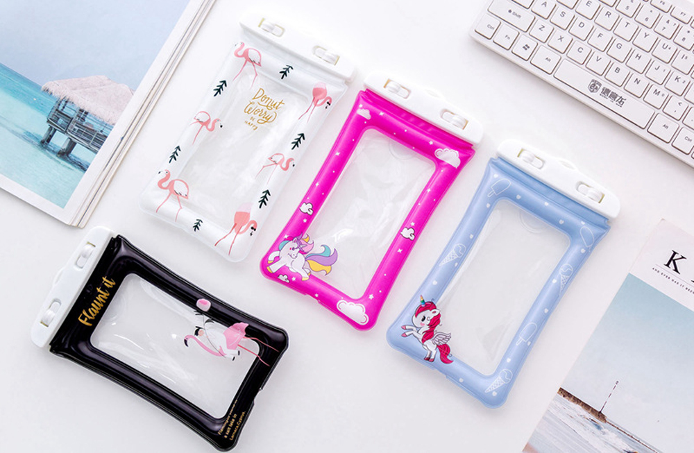 Universal-Swimming-Phone-Bags-Case-Unicorn-Cartoon-Flamingo-Portable-Diving-Pouch-Air-Bag-For-iPhone-X-7-8-Plus-6-6s-S8-S9-DH16- (2)