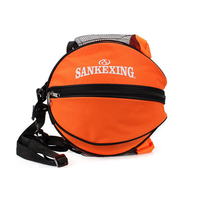 SANKEXING Portable Basketball Backpack Water Bottle Ball Pack Soccer Sports Bags Kids Football Kits Waterproof Volleyball