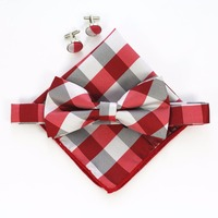 Handkerchief-Set-Bow-tie-Cufflinks-Pocket-Squares-1
