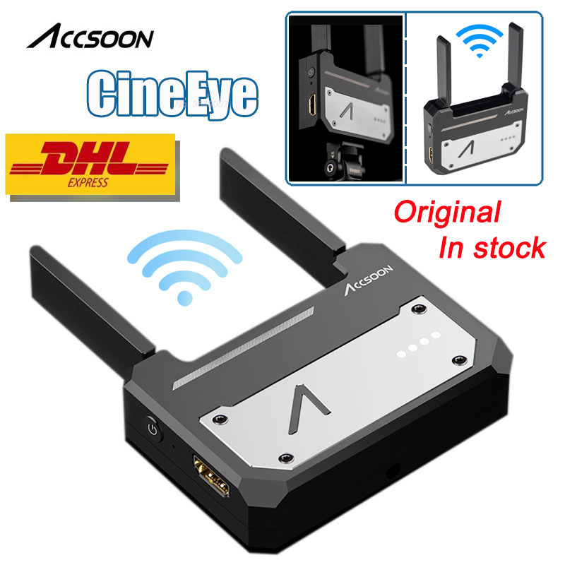 In Stock Accsoon CineEye Wireless 5G 1080P Mini HDMI Transmission Device Video Transmitter For IOS iPhone