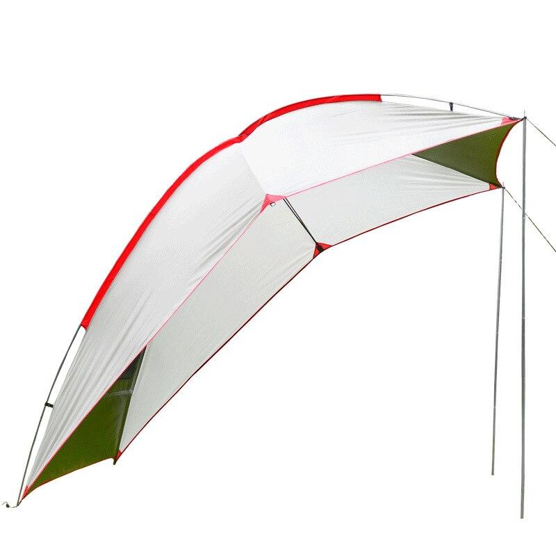 5-8 personne en plein air pliant voiture tente Camping abri Anti-UV pêche étanche voiture auvent tente pique-nique soleil abri AA60648