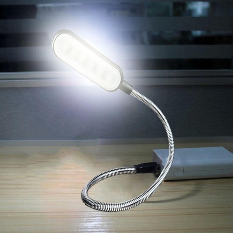 Flexible Portable USB Night Light Mini LED Lamp Keyboard Computer Desk Lamps (2)