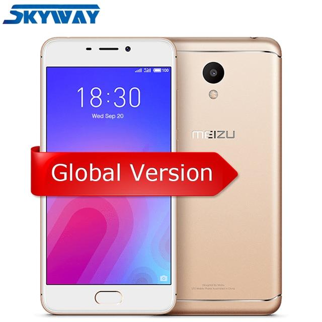 """Meizu M6 4G LTE Toàn Cầu Phiên Bản Điện Thoại 5.2 """"HD 720 P GB RAM 16 GB 5.2"""" HD 720 P MTK6750 Octa Core 13.0MP Camera Vân Tay"""